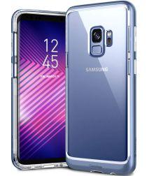 Caseology Skyfall Samsung Galaxy S9 Hoesje Transparant/Blauw