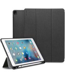 Ringke Smart Case iPad Pro 12.9 (2017) Flip Hoes met Standaard Zwart