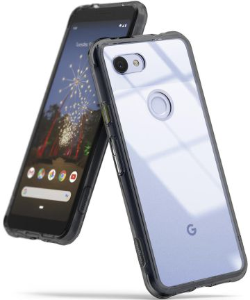 Ringke Fusion Google Pixel 3a XL Hoesje Zwart Hoesjes
