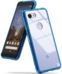 Ringke Fusion Google Pixel 3a XL Hoesje Blauw