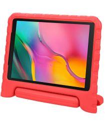 Samsung Galaxy Tab A 10.1 (2016) Kinder Tablethoes met Handvat Rood
