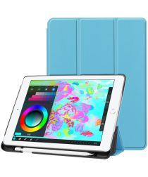 Apple iPad (2017/2018) Tri-Fold Hoes Blauw