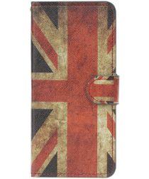 Samsung Galaxy A50 Book Case Hoesje Wallet met Print Union Jack