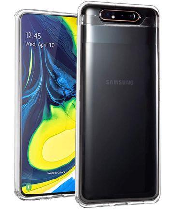 Transparant Samsung Galaxy A80 Hoesje Dun TPU Hoesjes