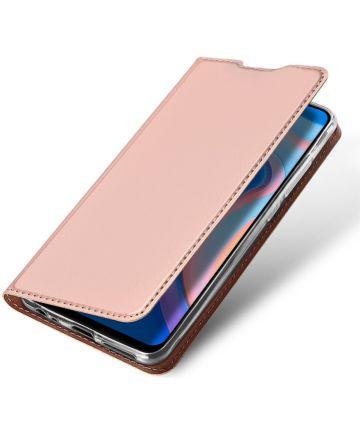 Dux Ducis Skin Pro Series Huawei P Smart Z Flip Hoesje Roze Hoesjes