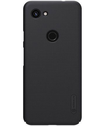 Nillkin Super Frosted Google Pixel 3A Shield Hoesje Zwart Hoesjes
