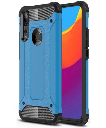 Huawei P Smart Z Hybride Hoesje Blauw Hoesjes