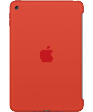 Originele Apple iPad Mini 4 Silicone Case Orange Hoesjes