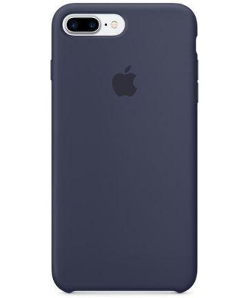 Originele Apple iPhone 8 / 7 Plus Silicone Case Midnight Blue