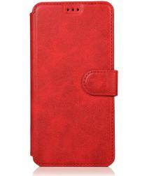 Samsung Galaxy A70 Portemonnee Hoesje Rood