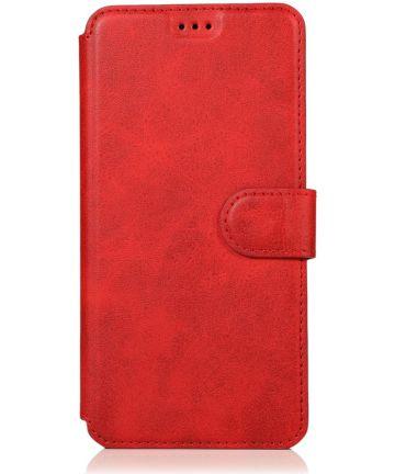 Samsung Galaxy A70 Portemonnee Hoesje Rood Hoesjes