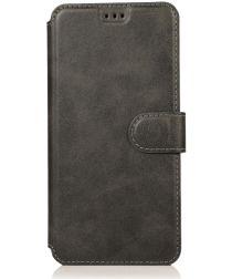 Samsung Galaxy A70 Portemonnee Hoesje Zwart