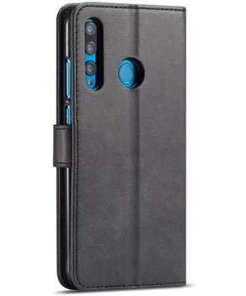 Huawei P Smart Plus (2019) Portemonnee Bookcase Hoesje Zwart Hoesjes