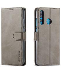 Huawei P Smart Plus (2019) Portemonnee Hoesje Grijs