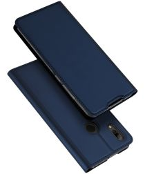 Dux Ducis Skin Pro Series Flip Hoesje Huawei P Smart Plus (2019) Blauw