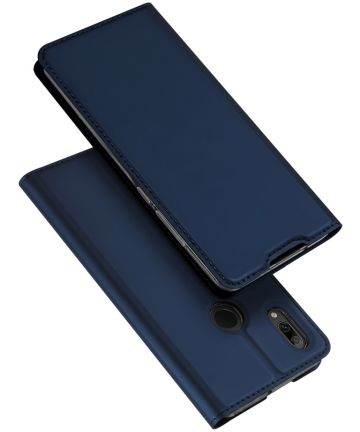 Dux Ducis Skin Pro Series Flip Hoesje Huawei P Smart Plus (2019) Blauw Hoesjes