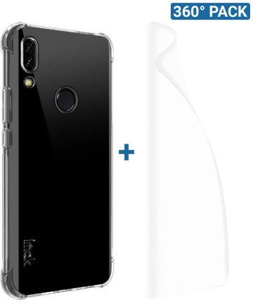IMAK Huawei P Smart Z Hoesje TPU met Screenprotector Transparant Hoesjes