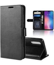 Xiaomi Mi 9 SE Wallet Flip Case Stand Zwart