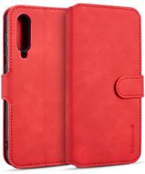 DG Ming Xiaomi Mi 9 Retro Portemonnee Hoesje Rood