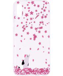 Samsung Galaxy A10 TPU Hoesje met Bloemen Print