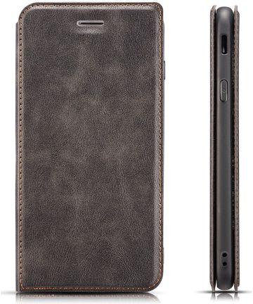Xiaomi Mi 9T Ultra Dunne Portemonnee Hoesje Grijs Hoesjes
