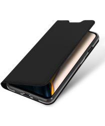 Dux Ducis Skin Pro Series Flip Hoesje OnePlus 7 Zwart