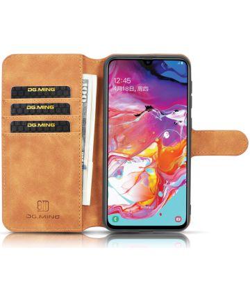 Samsung Galaxy A10 Portemonnee Hoesje Bruin Hoesjes