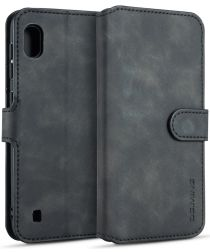 Samsung Galaxy A10 Portemonnee Hoesje Zwart