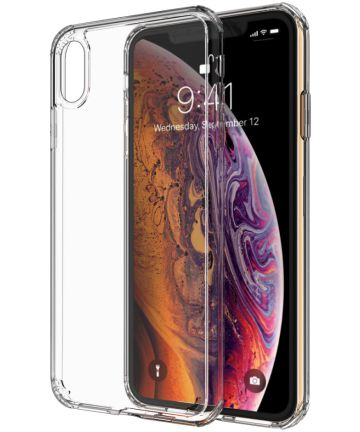 Apple iPhone XS Max Hard Crystal Hoesje Transparant Hoesjes
