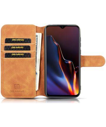 Huawei Y5 2019 Portemonnee Hoesje Bruin Hoesjes