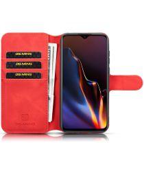 Huawei Y5 2019 Portemonnee Hoesje Rood