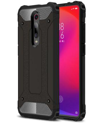 Xiaomi Mi 9T Hybride Hoesje Zwart