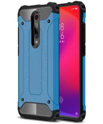 Xiaomi Mi 9T Hybride Hoesje Licht Blauw