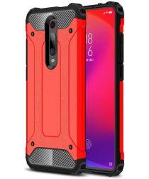 Xiaomi Mi 9T Hybride Hoesje Rood