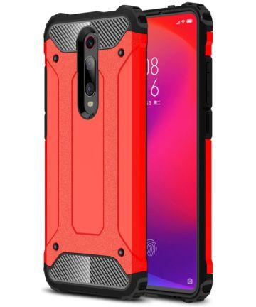 Xiaomi Mi 9T Hybride Hoesje Rood Hoesjes