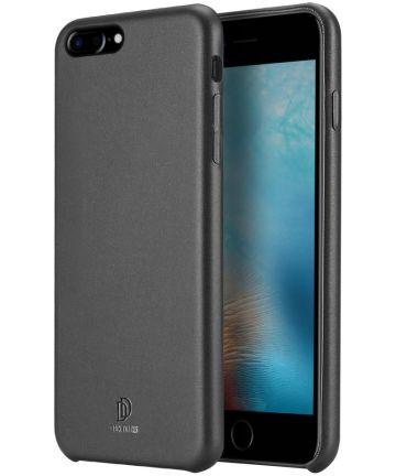 Dux Ducis Skin Lite Coating Hoesje Apple iPhone 8 Plus Zwart Hoesjes