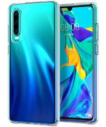 Huawei P30 Hoesje Dun TPU Transparant