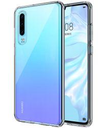Huawei P30 Hard Crystal Hoesje Transparant