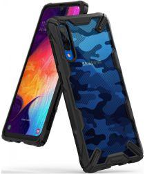 Ringke Fusion X Samsung Galaxy A50 Hoesje Camo Zwart
