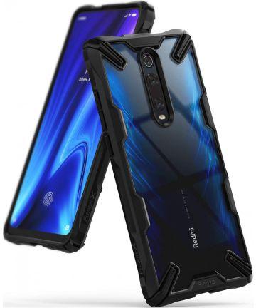 Ringke Fusion X Xiaomi Redmi Mi 9T Hoesje Zwart Hoesjes
