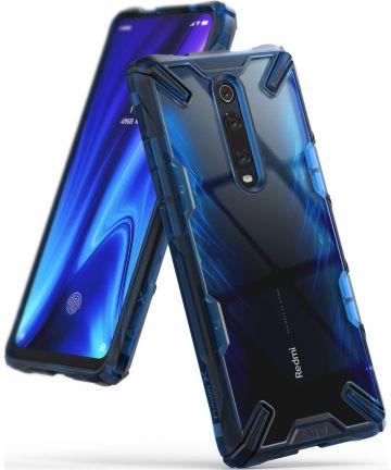 Ringke Fusion X Xiaomi Redmi Mi 9T Hoesje Blauw Hoesjes