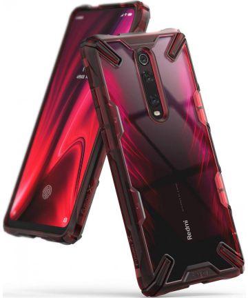 Ringke Fusion X Xiaomi Redmi Mi 9T Hoesje Rood Hoesjes