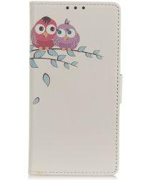 Nokia 4.2 Portemonnee Hoesje met Print Loving Owls