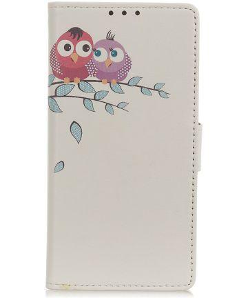 Nokia 4.2 Portemonnee Hoesje met Print Loving Owls Hoesjes