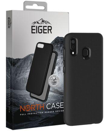 Eiger North Case Hybride Samsung Galaxy A50 Hoesje Back Cover Zwart Hoesjes