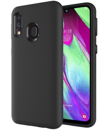 Eiger North Case Hybride Back Cover Samsung Galaxy A40 Zwart