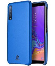 Dux Ducis Skin Lite Kunstleren Coating Hoesje Galaxy A7 (2018) Blauw