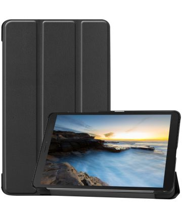 Samsung Galaxy Tab A 8 (2019) Tri-Fold Front Cover Zwart Hoesjes