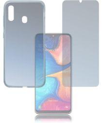 Samsung Galaxy A20E Transparante Hoesjes