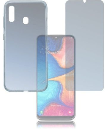 4smarts 360° Protection Limited Cover Samsung Galaxy A20E Hoesjes